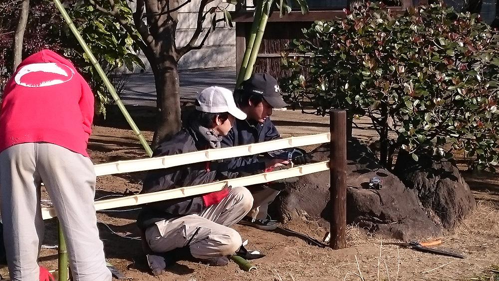和風庭園の施工